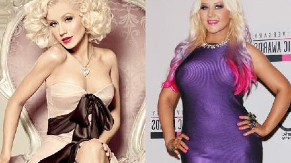 Christina Aguillera : Vive Photoshop !