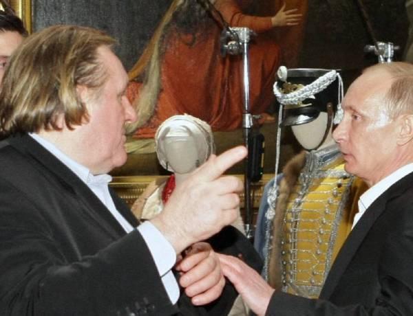 Gérard Depardieu, le dernier né des russes