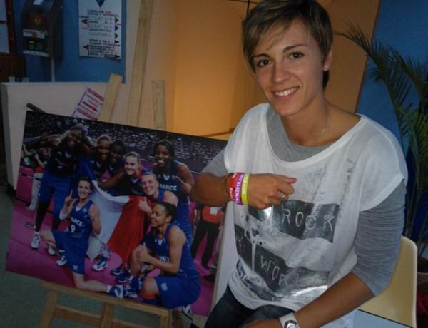 Céline Dumerc élue Sportif de l'année 2012