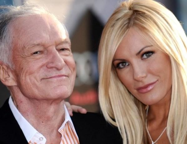 Hugh Hefner bientôt papa à 86 ans?