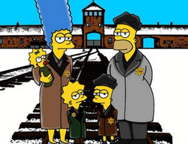Les Simpson à Auschwitz pour commémorer la Shoah