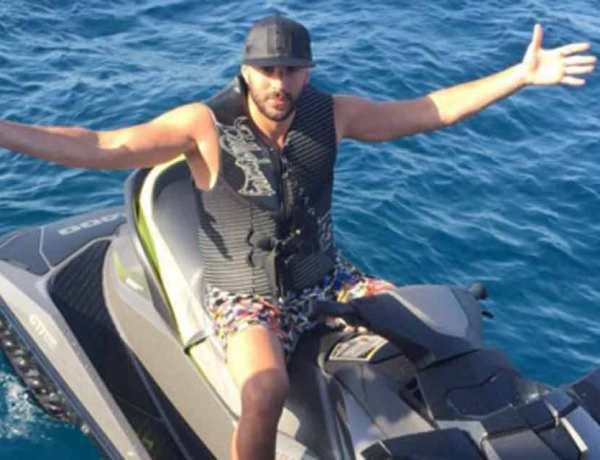 Euro 2016: Karim Benzema s'éclate à Saint-Tropez