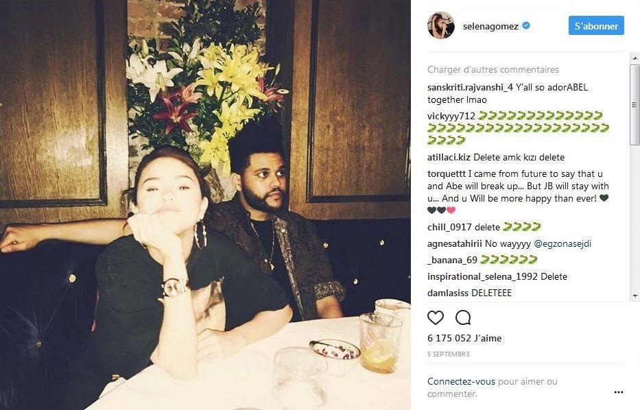 Selena Gomez : En couple avec Justin Bieber, son ex The Weeknd l'efface de sa vie !