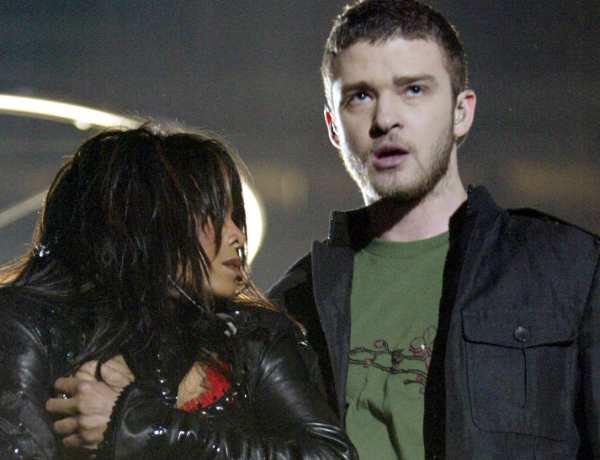 Super Bowl : Justin Timberlake et le scandale du sein nu de Janet Jackson !
