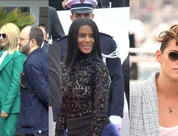 Cannes 2018 : Léa Seydoux adorable, Shy'm éblouissante, Kristen Stewart fait sensation… Revivez la première journée du festival