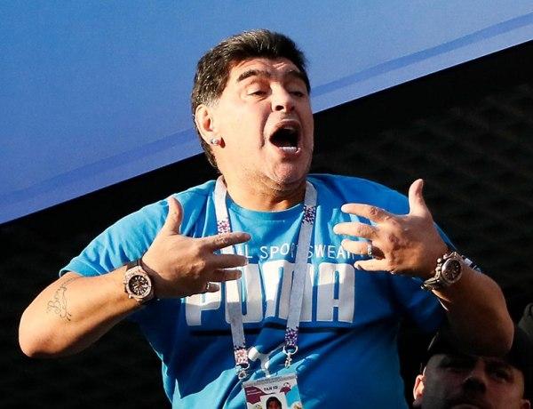 Coupe du Monde 2018 : Diego Maradona pète un câble en plein match !