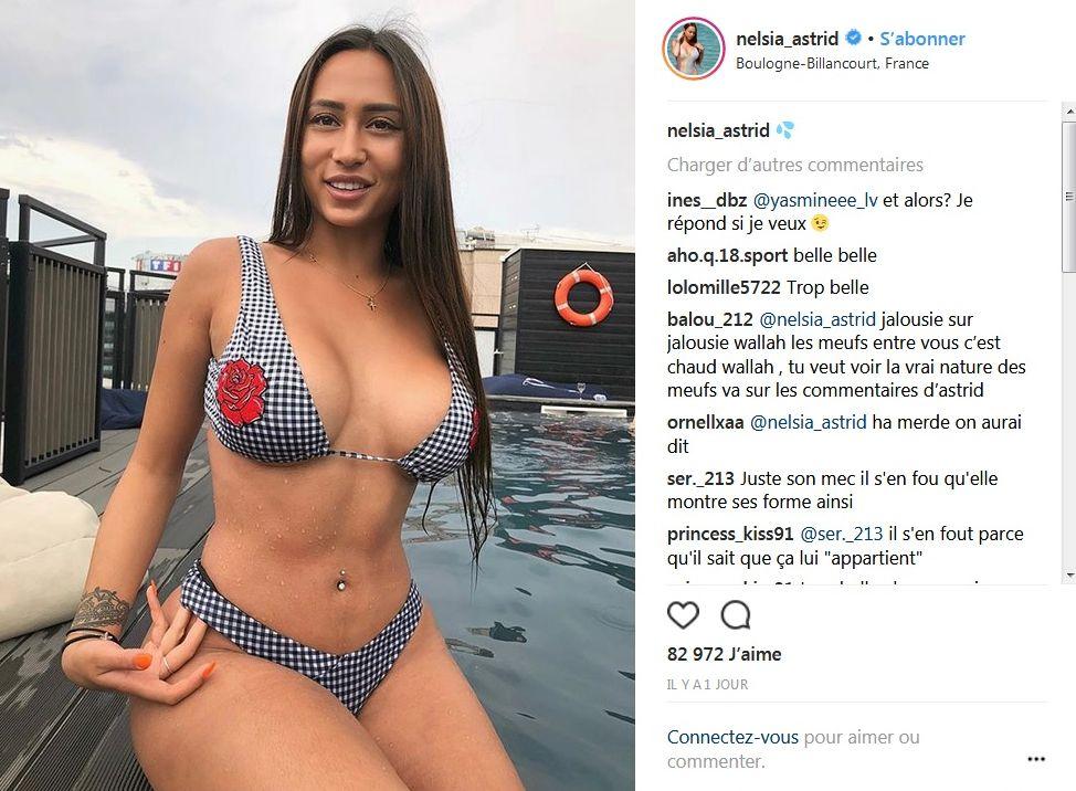 Astrid Nelsia sexy en maillot de bain : Elle dévoile ses courbes vertigineuses !