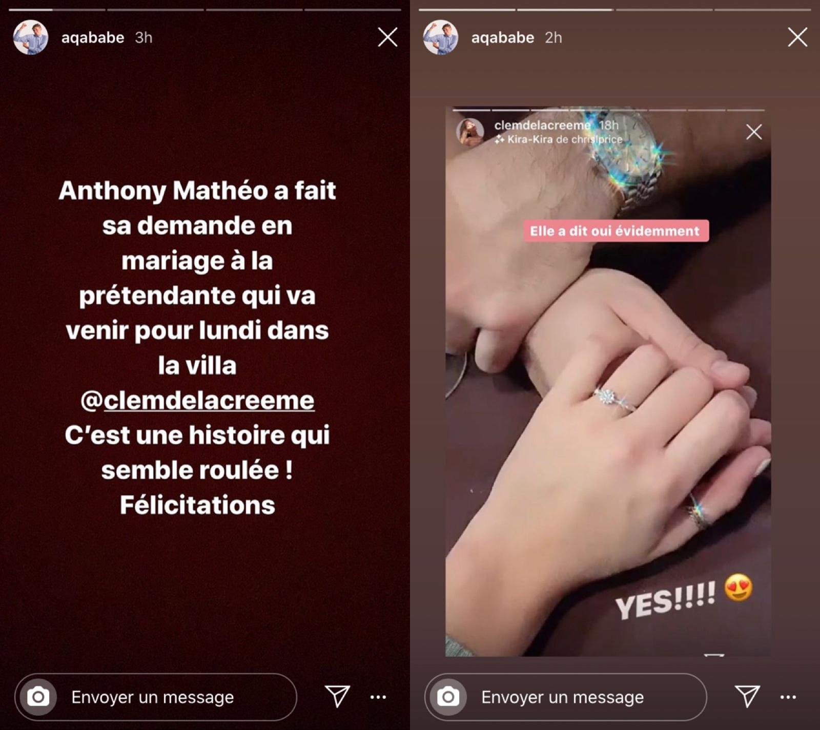 LVDCB 5 : Anthony Matéo s'est fiancé à sa prétendante !