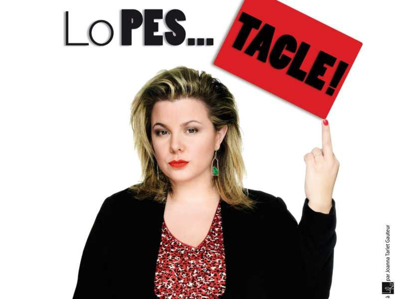[Exclu] Cindy Lopes : Attaque et tacle dans son One Woman Show «LoPES… TACLE»