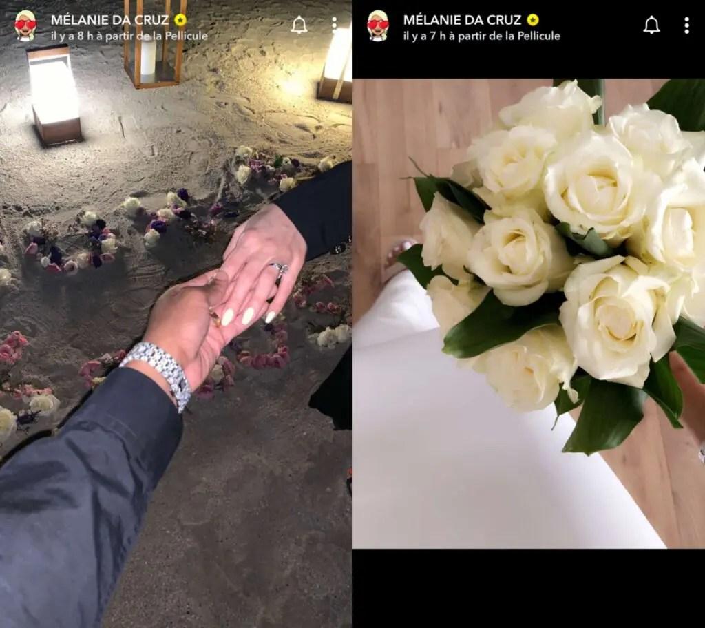Mélanie Da Cruz dévoile des photos de son mariage avec Anthony Martial !