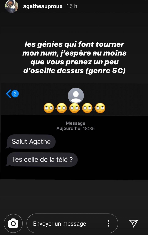 Agathe Auproux : Son numéro de téléphone dévoilée, elle tacle ses détracteurs