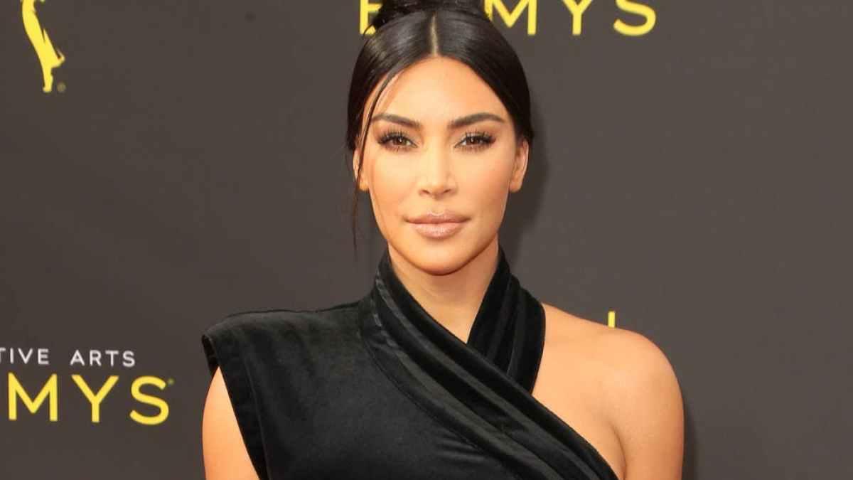 Kim Kardashian affriolante : Elle ose la lingerie léopard pour faire du sport