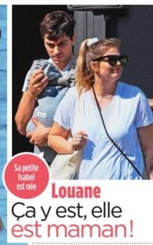 Louane maman : Découvrez la première photo de la chanteuse avec son bébé