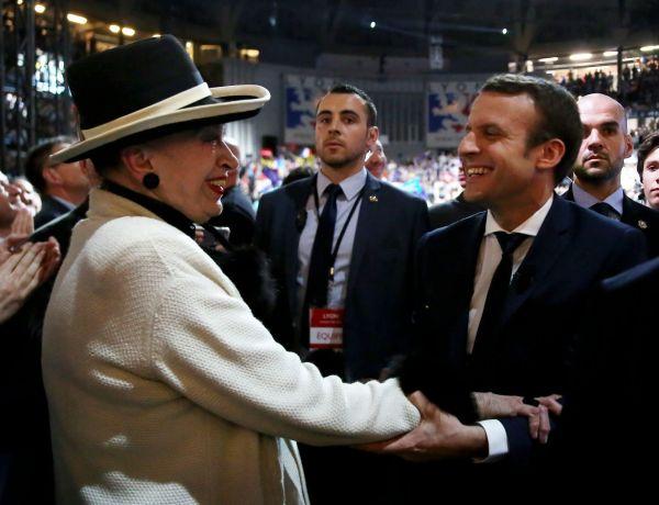 Geneviève de Fontenay : sa relation très surprenante avec Emmanuel Macron