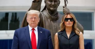 Melania Trump : pourquoi elle a lâché Donald Trump sur un meeting