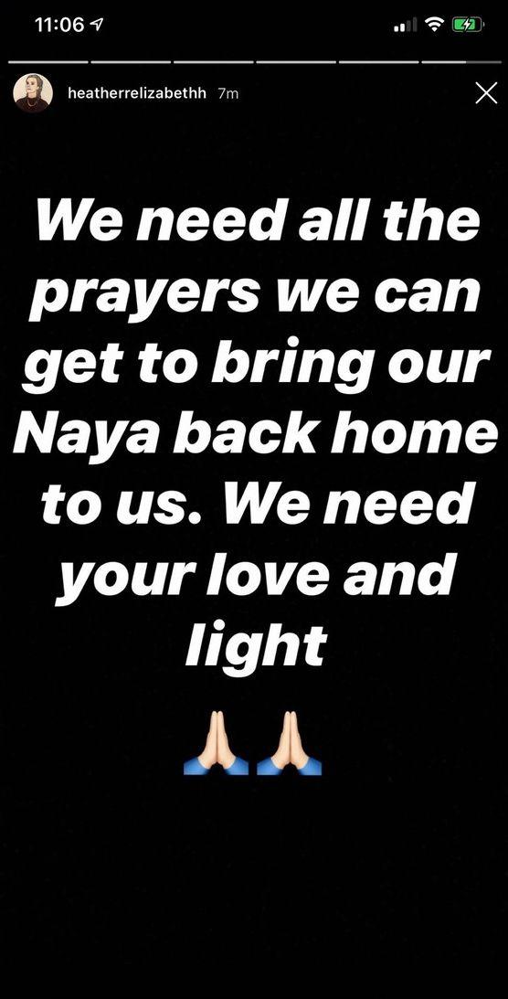 Naya Rivera présumée morte après un tour en bateau avec son fils