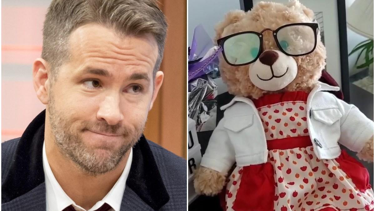 Ryan Reynolds : La folle somme qu'il promet à celui qui retrouvera ce nounours