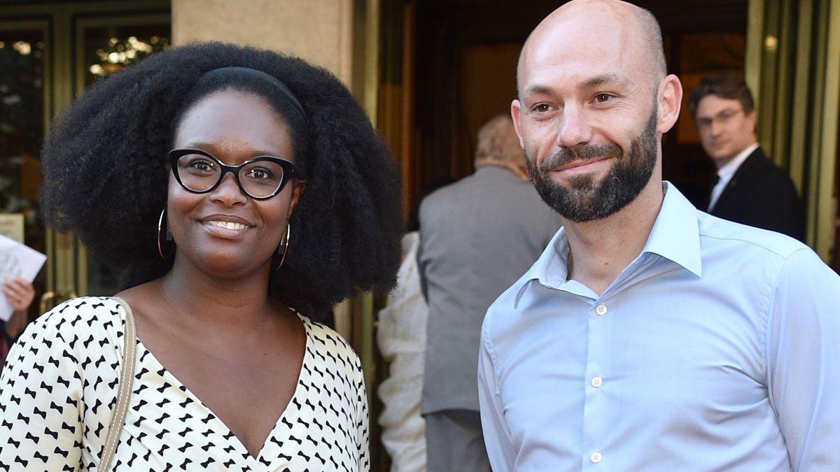 Sibeth Ndiaye et son mari Patrice Roques