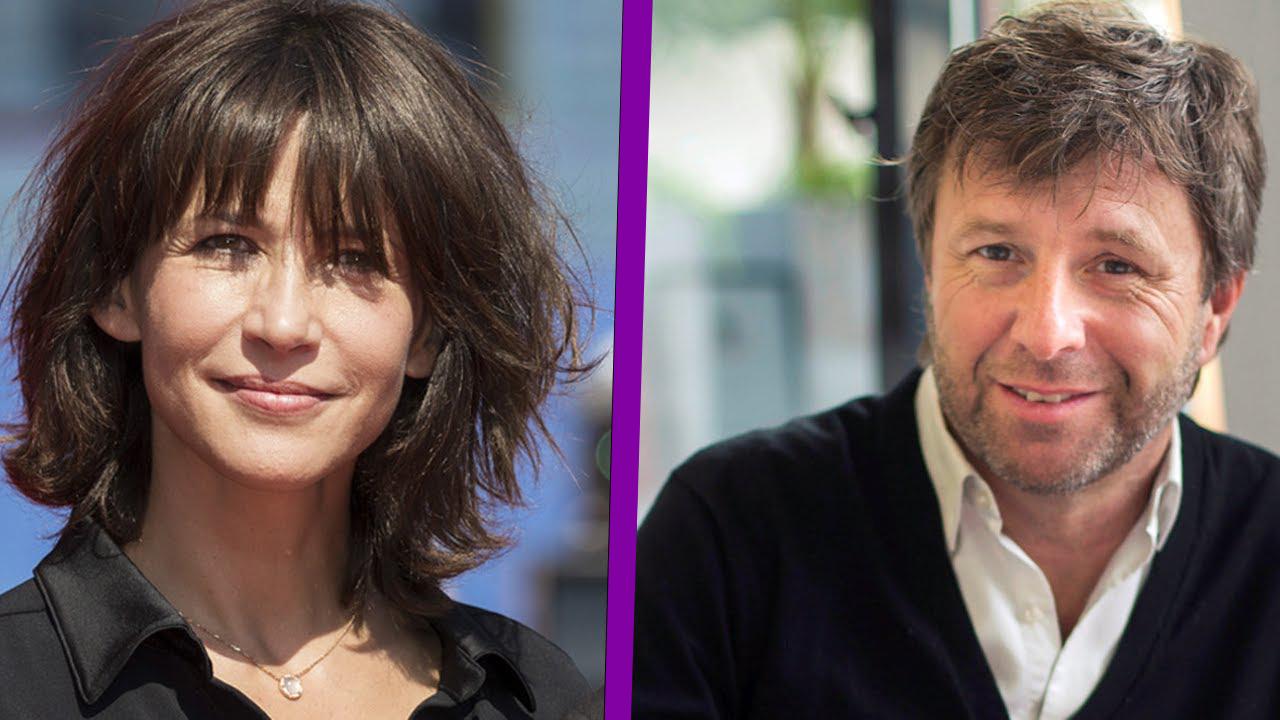 Sophie Marceau et Richard Caillat