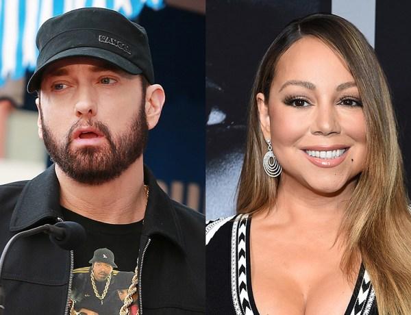Eminem craint les révélations de Mariah Carey dans sa prochaine autobiographie