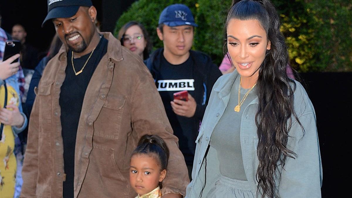 Kanye West et Kim Kardashian rabibochés ? Grand moment de joie avec North !