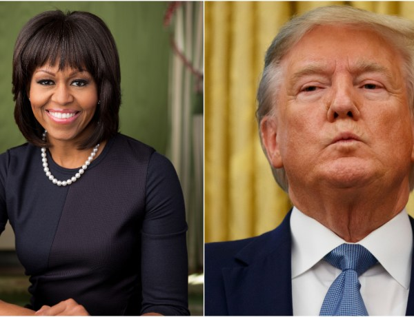 Michelle Obama déclare la guerre à Donald Trump qui rétorque !