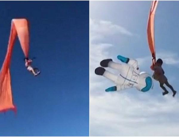 Taïwan : une fillette emportée dans les airs par son cerf-volant