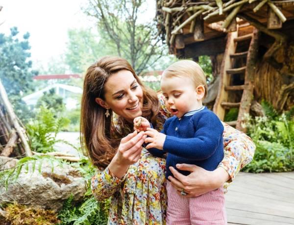 Kate Middleton et le prince Louis font la Une d'un magazine italien et ils sont trop mignons !