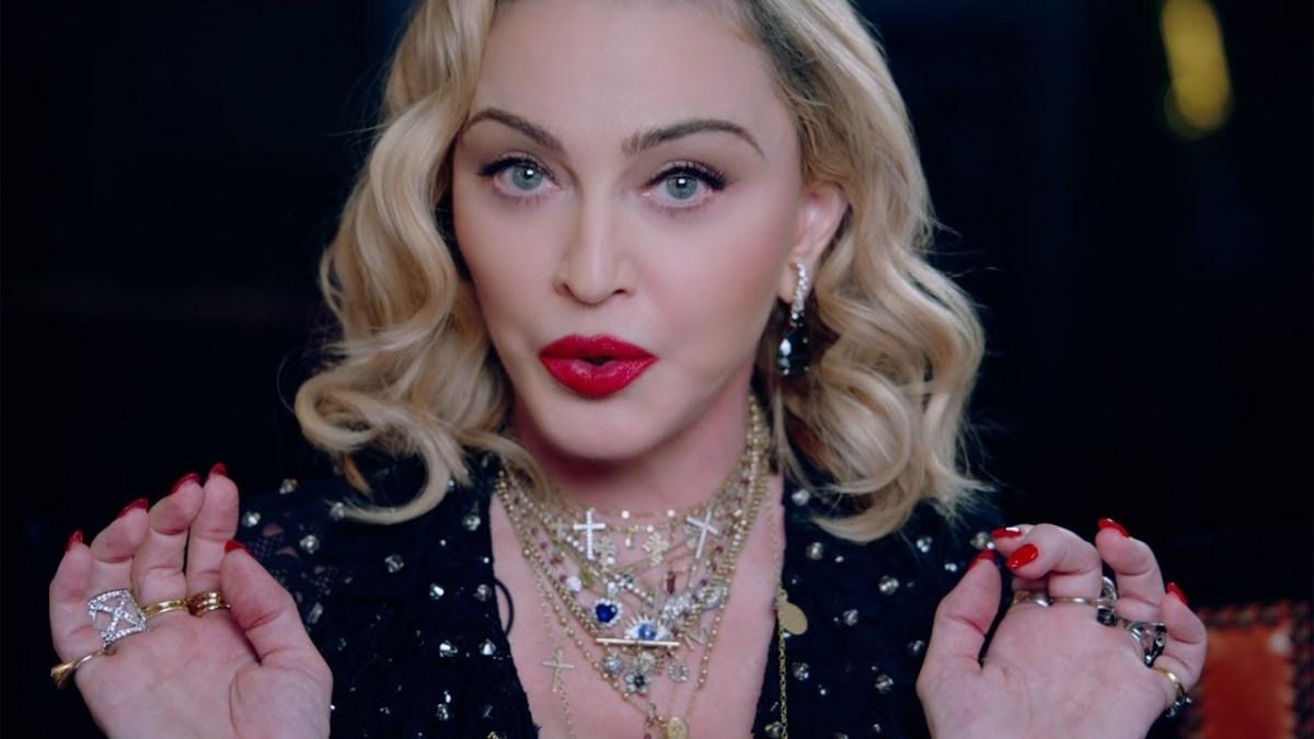 Madonna aux commandes de son biopic : «C'est essentiel de revenir sur les montagnes russes que sont ma vie»