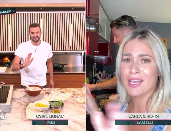 Tous en cuisine : Carla Moreau et Kevin Guedj frôlent la catastrophe !