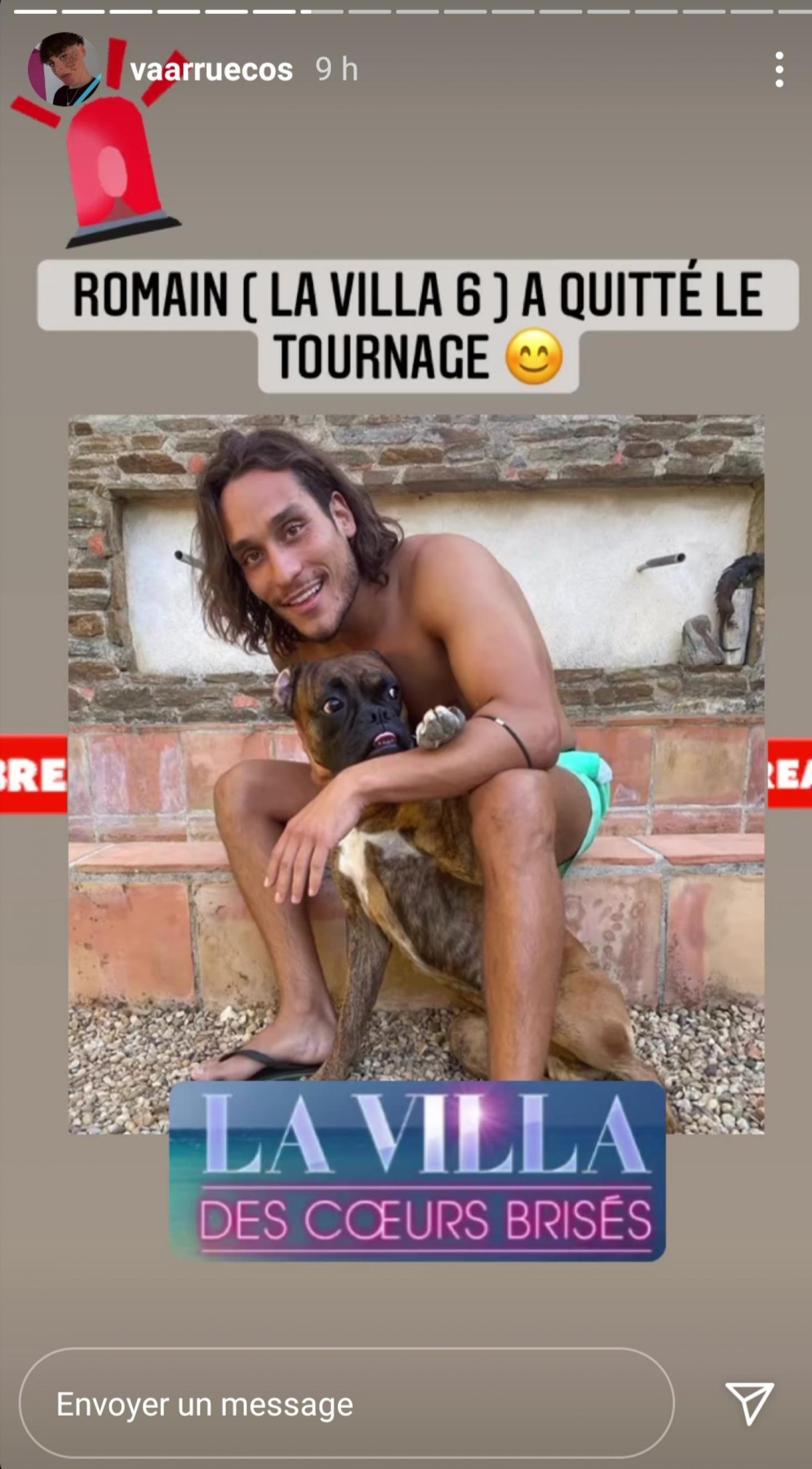 Jazz et Laurent, sur le tournage de la Villa des Cœurs Brisés 6 ?