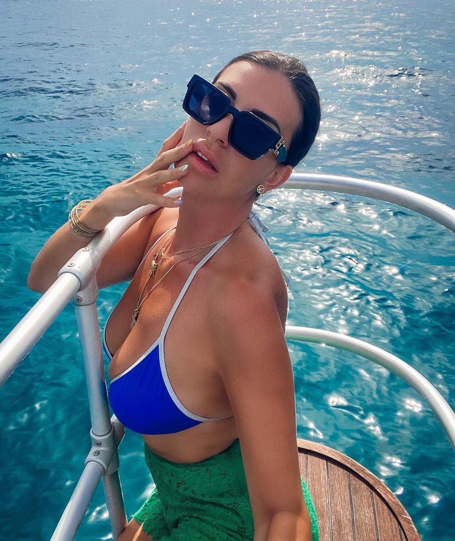 Martika Caringella en vacances
