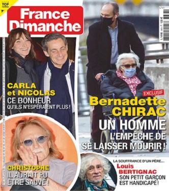 Bernadette Chirac masquée et en fauteuil roulant : rare apparition de l'ancienne Première dame