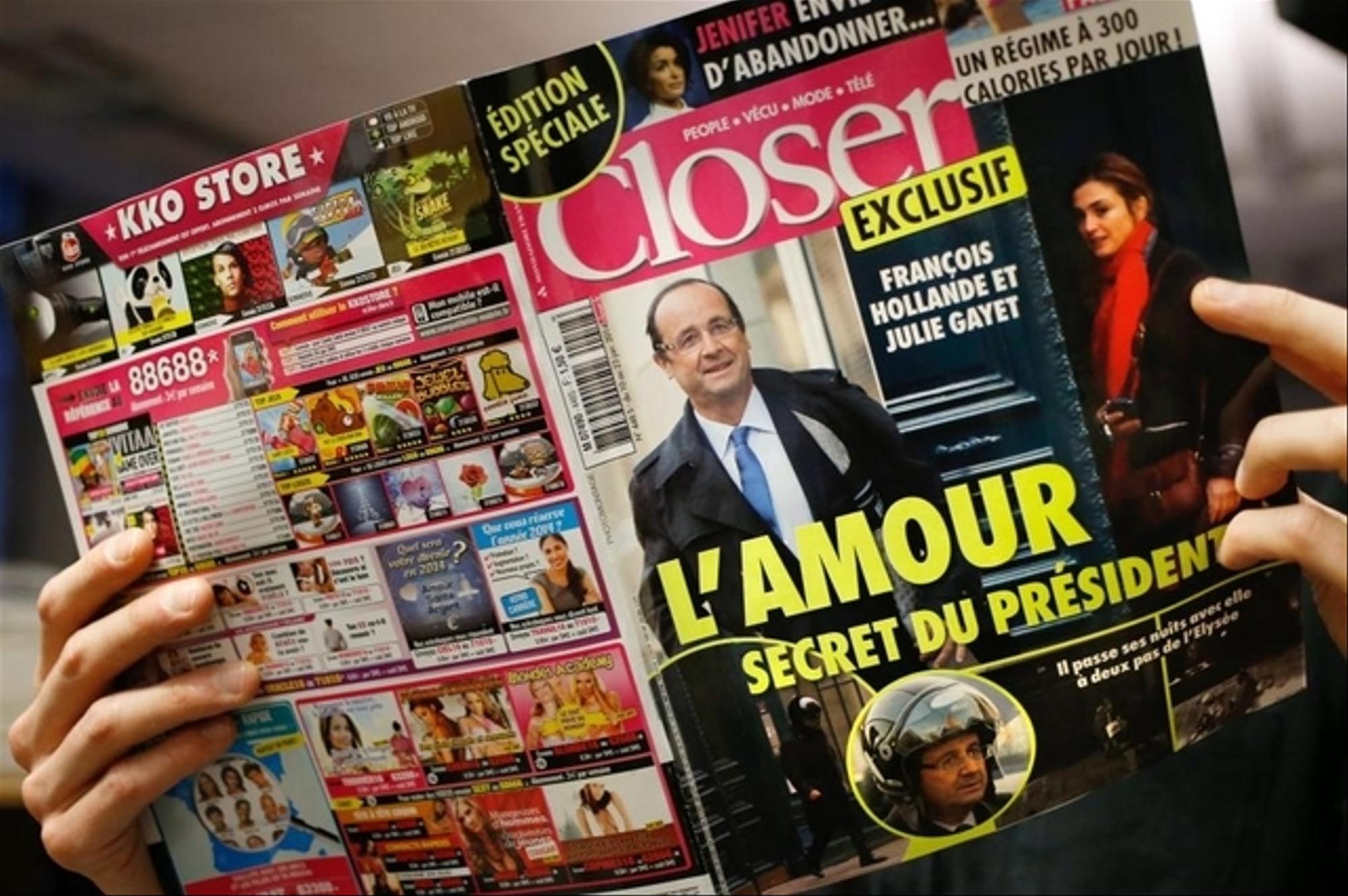François Hollande infidèle ? Il aurait trompé Julie Gayet avec une danseuse de l'Opéra ! La comédienne réagit !