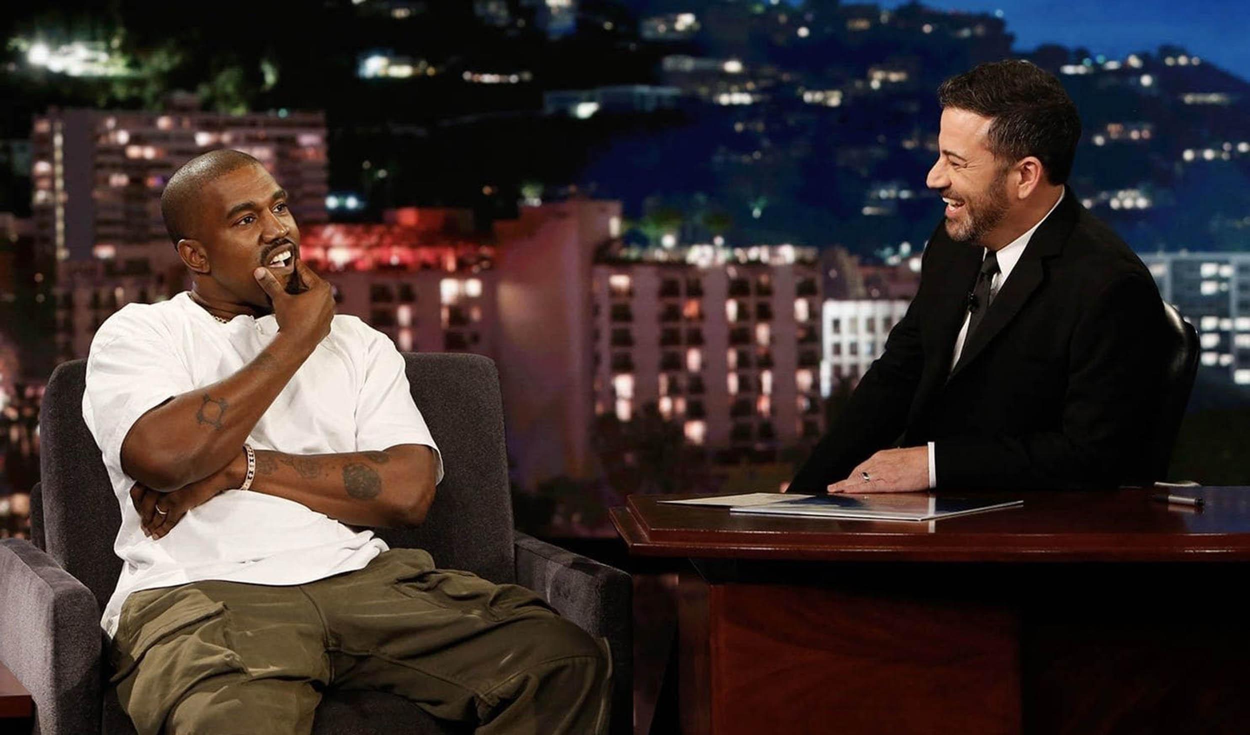 Kanye West annule sa venue dans l'émission de Jimmy Kimmel après son échec aux élections