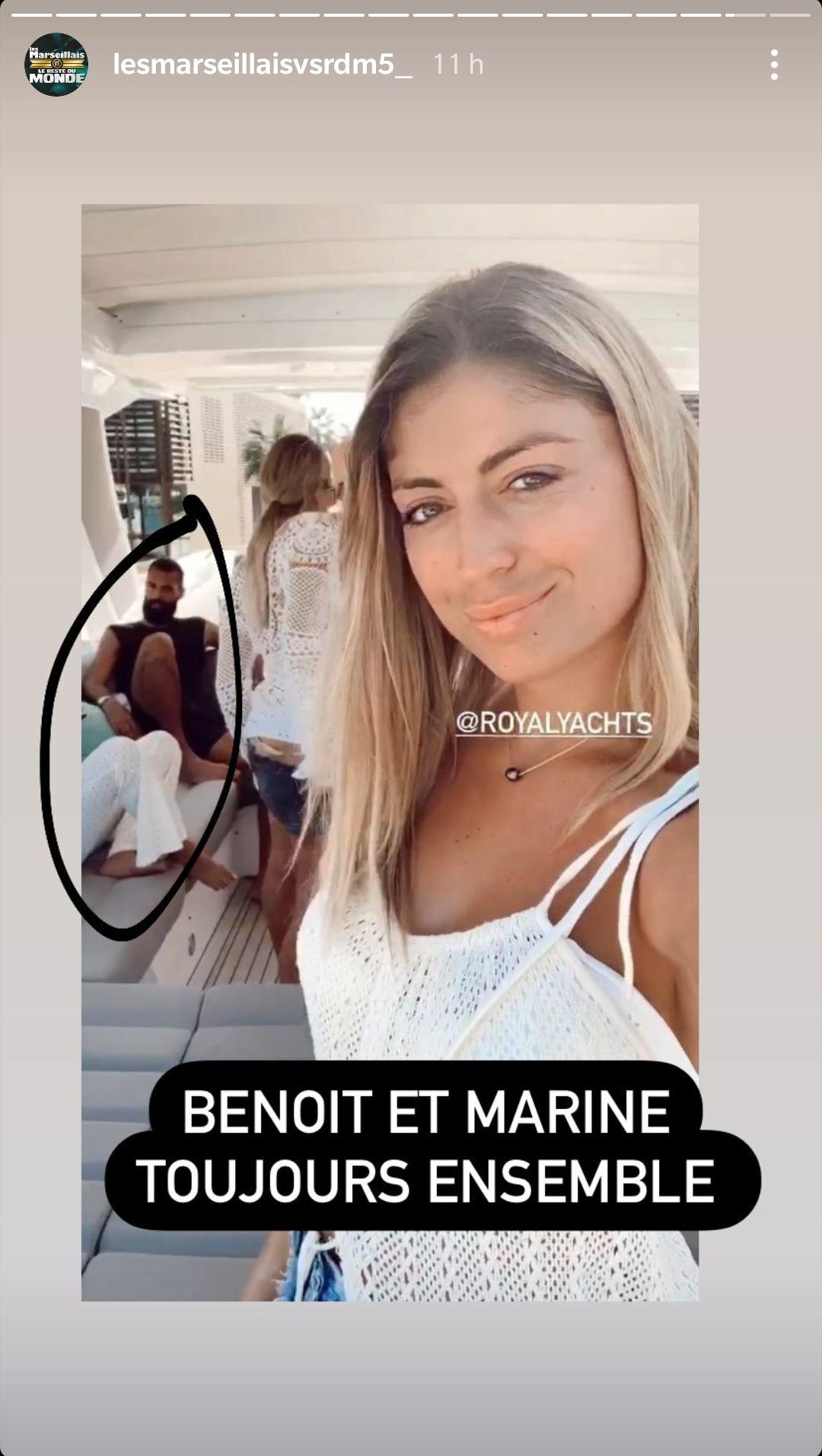Marine El Himer de nouveau en couple avec Benoît Paire ? Leur sortie sur un yacht fait parler !