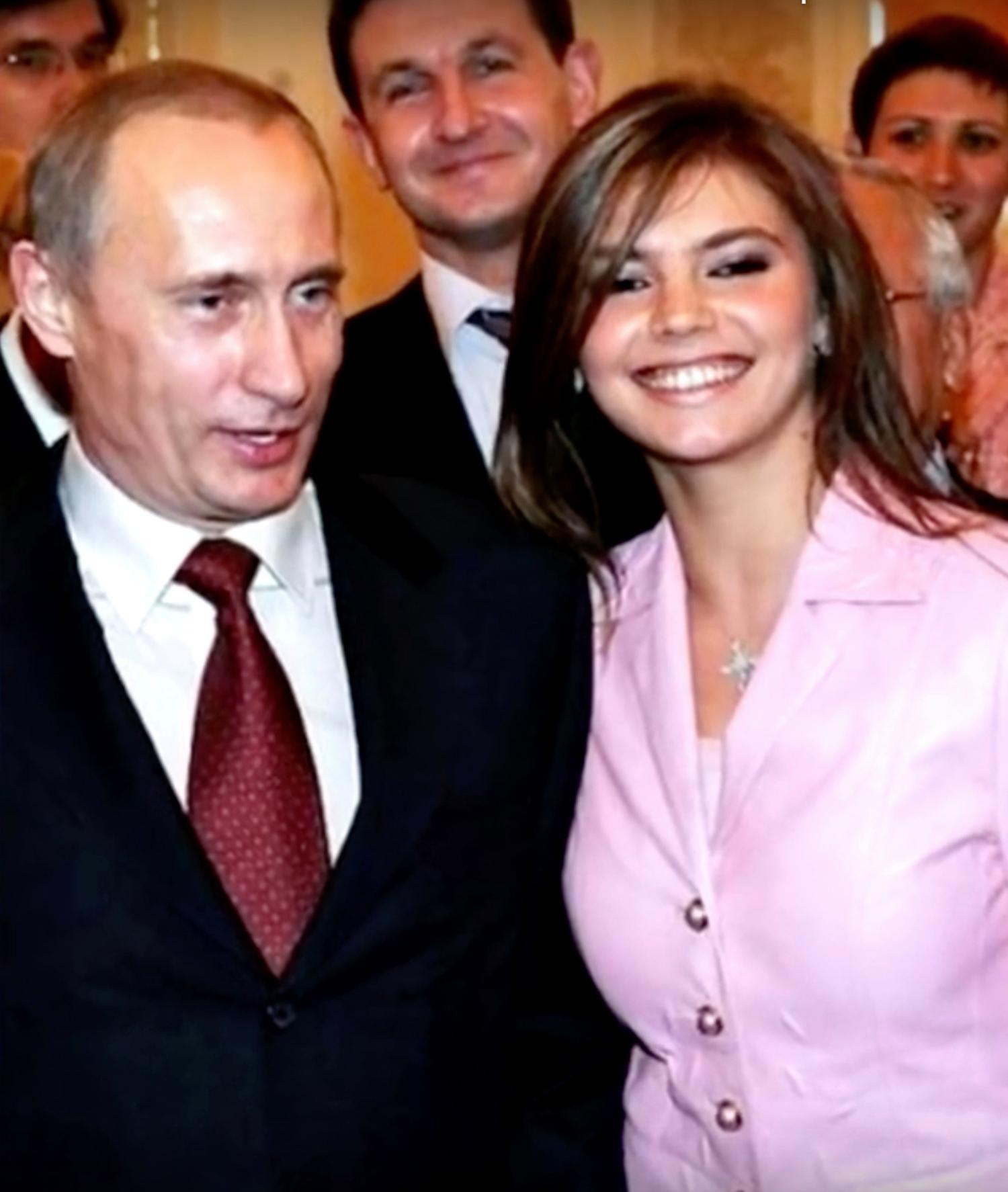 Vladimir Poutine, Alina Kabaeva