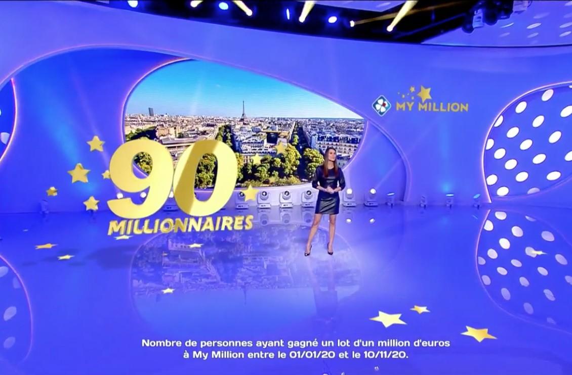 """Euromillions : Karine Ferri aux commandes d'un tirage historique """"C'est formidable, ça tombe sur moi"""""""