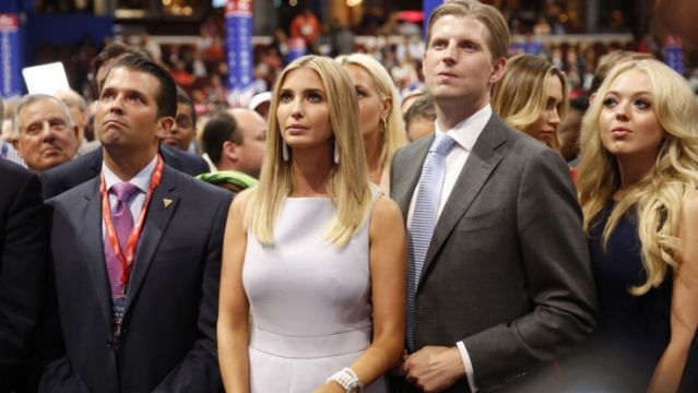 Les enfants Trump