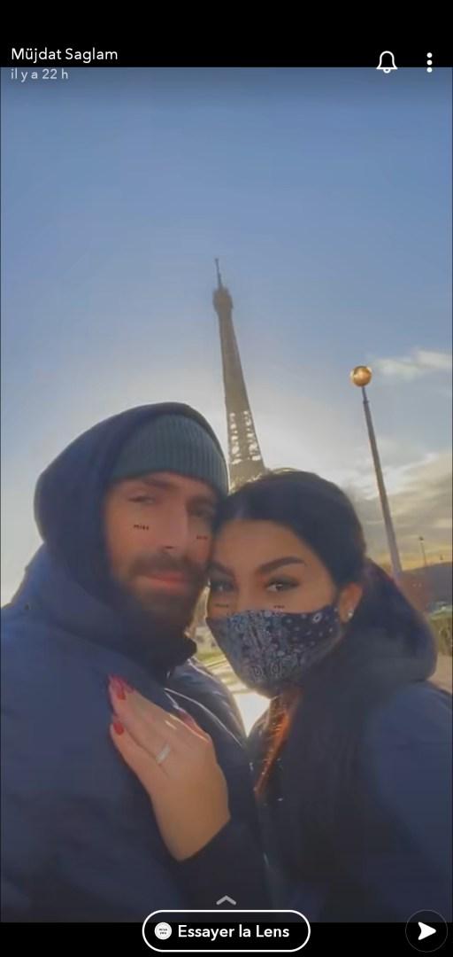 Mujdat Saglam fiancé à Feliccia ? Ce détail qui sème le doute !