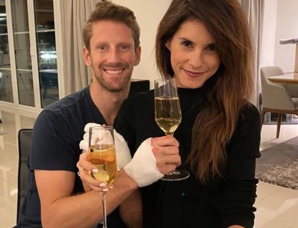 Romain Grosjean : Le pilote montre ses impressionnantes brûlures sans bandages !