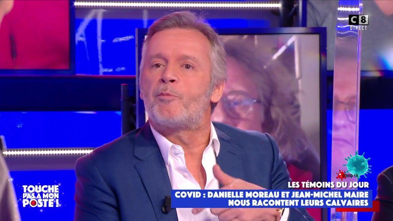"""TPMP : Jean-Michel Maire balance de graves accusations contre Karine Le Marchand """"Ce ne sont pas des manières"""""""