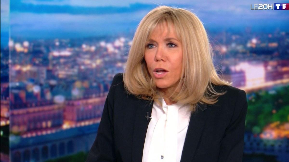Brigitte Macron invitée du JT de TF1 : Ce détail qui a surpris les internautes