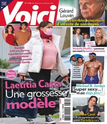 Laetitia Casta bientôt maman pour la quatrième fois : L'ancien mannequin affiche un beau ventre arrondi