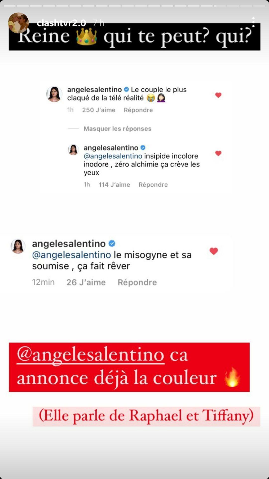 Angèle Salentino (LVDA4) : Menacée physiquement par Raphaël Pépin, elle le clashe !