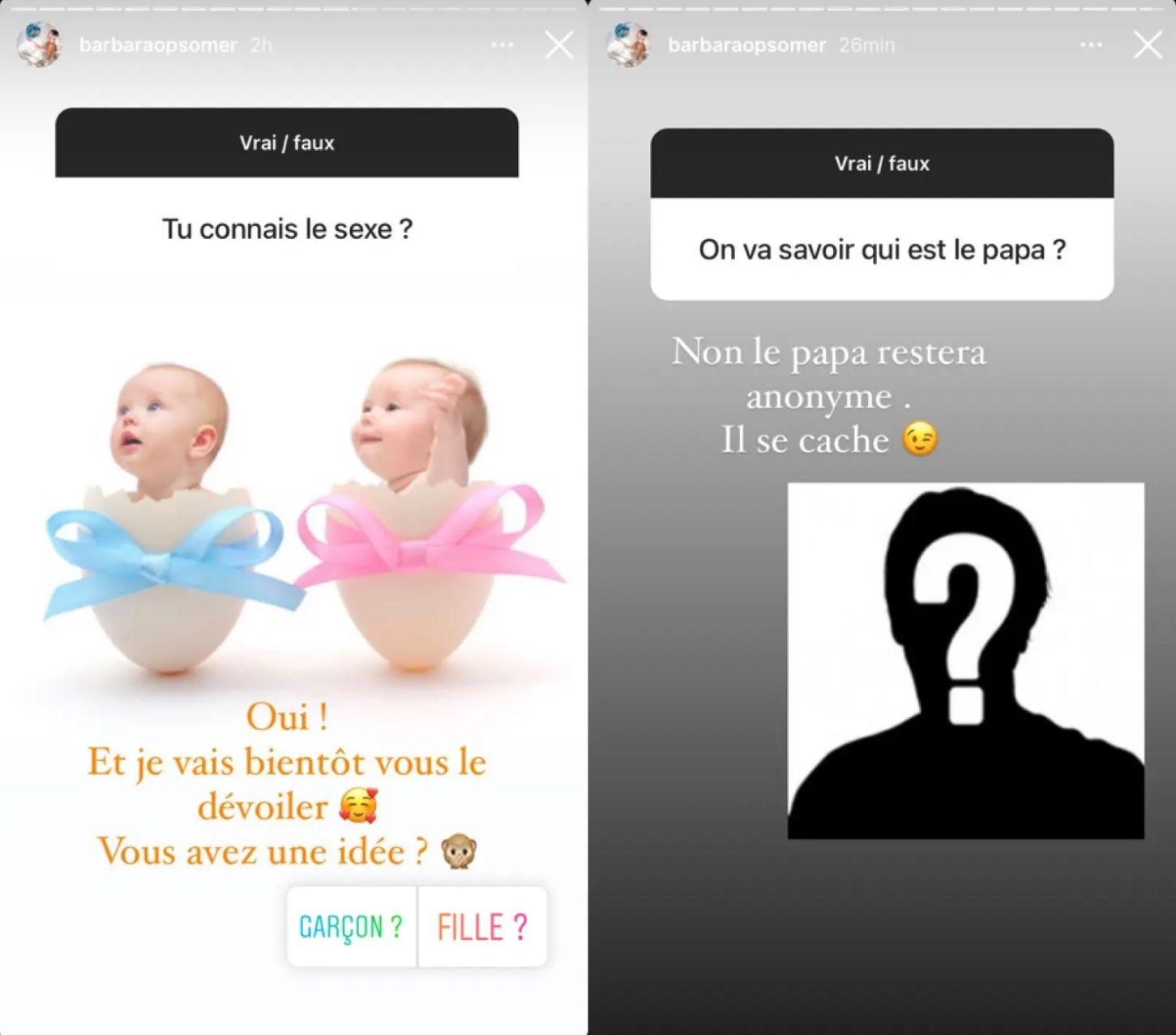 Barbara Opsomer enceinte : Qui est le père ? Elle répond aux internautes !