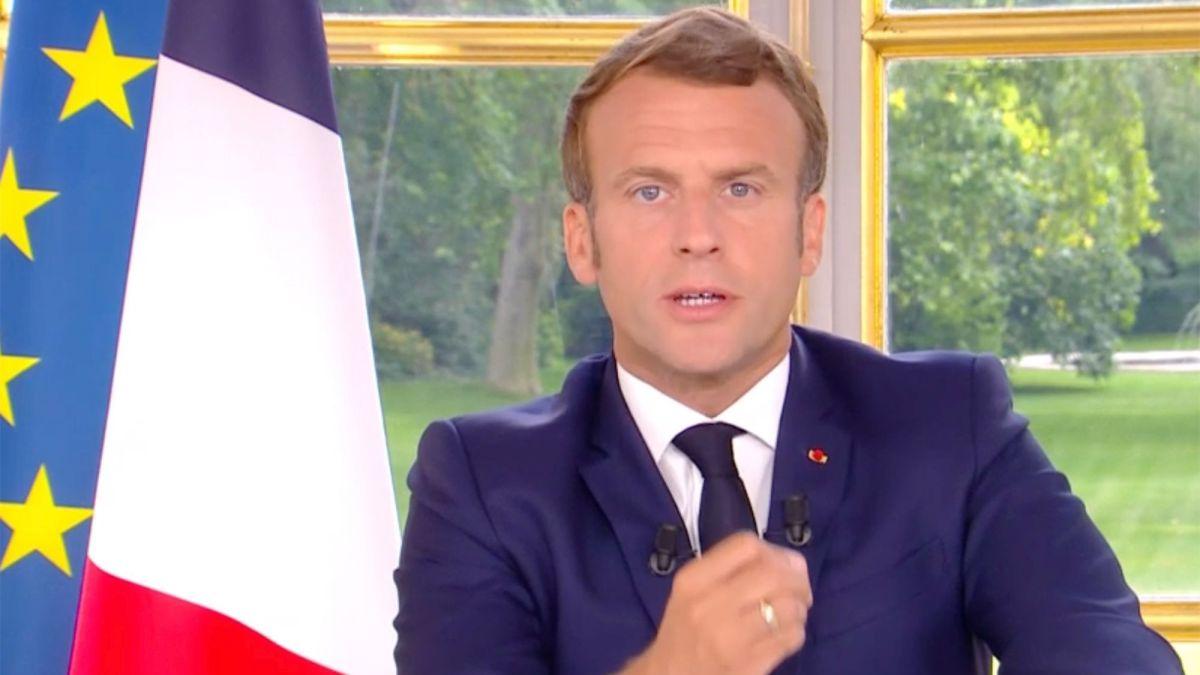 Emmanuel Macron invité surprise du 20h de TF1 : Ce détail qui a perturbé les internautes