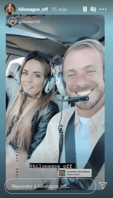 Julien Bert offre une St-Valentin de rêve à son ex Hilona