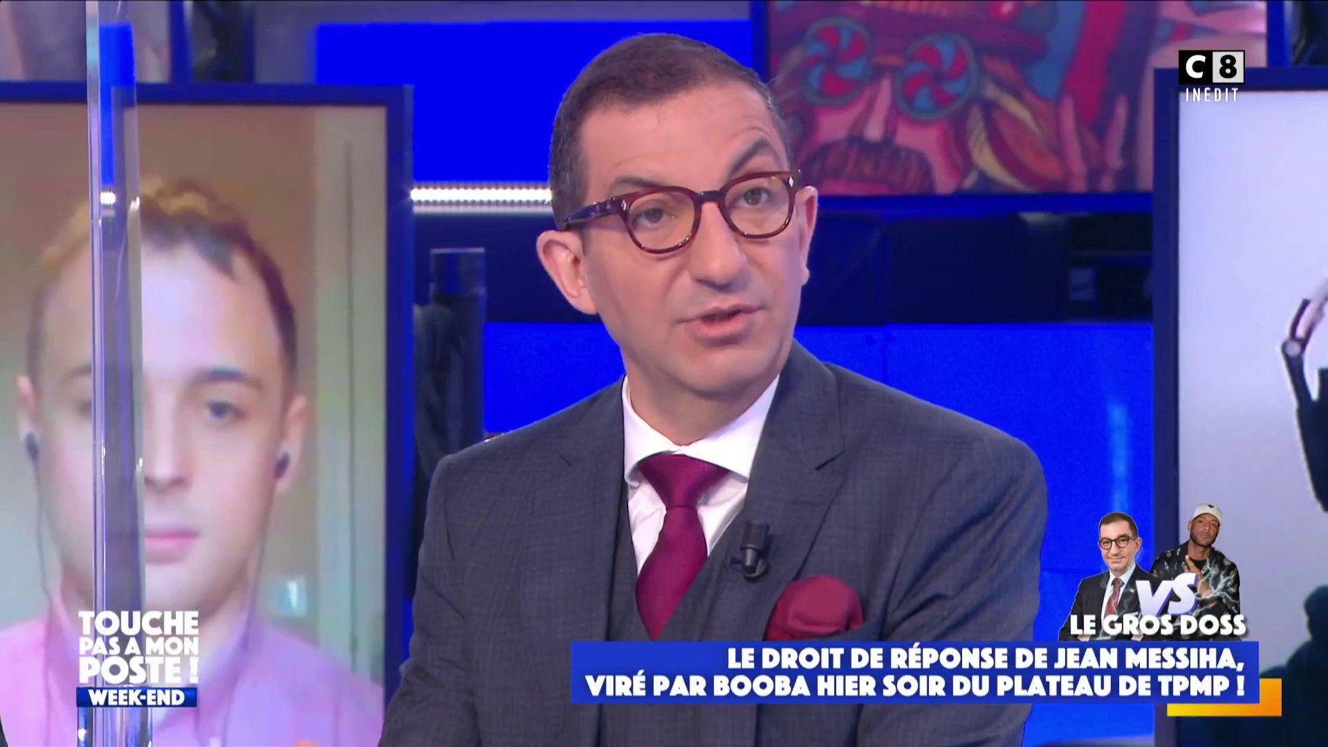 """TPMP : Jean Messiha tacle les chroniqueurs de l'émission """"Je ne les aime pas"""""""