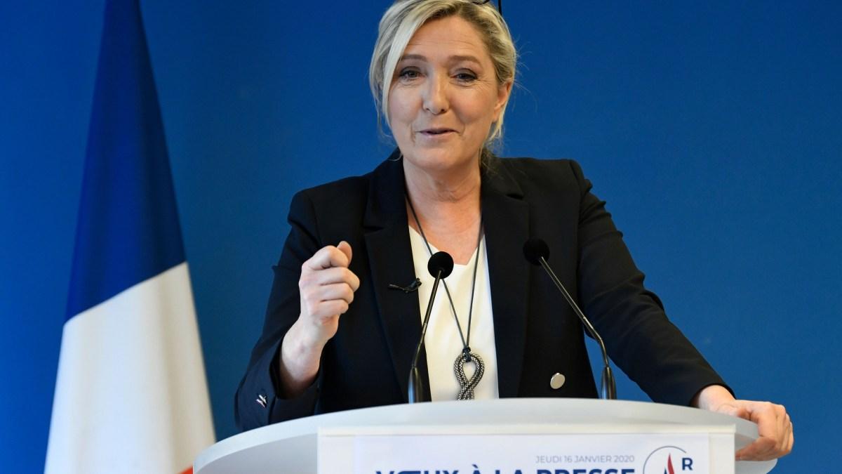 Amel Bent, Vitaa et Camélia Jordana : Marine Le Pen réagit à leur reprise de «Marine»